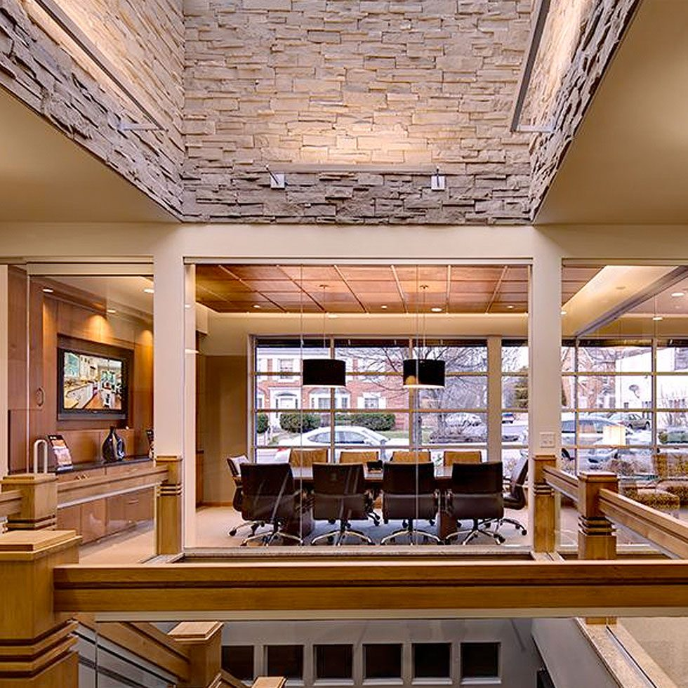 Commerical Interior design by Sazama